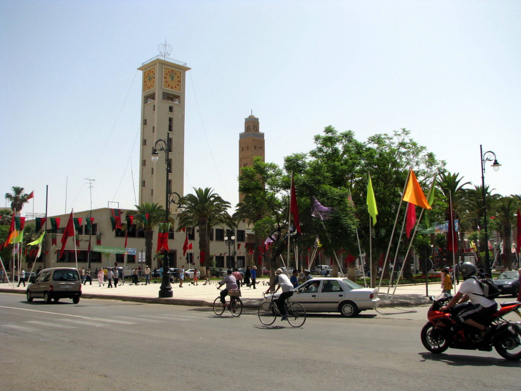 Oujda moskee marie et place