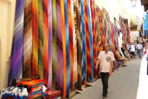 Fez markt