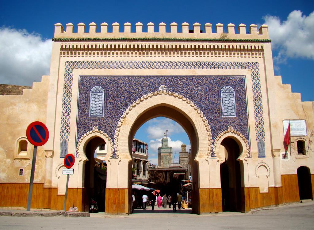 Ingang medina Bab Bou Jeloud