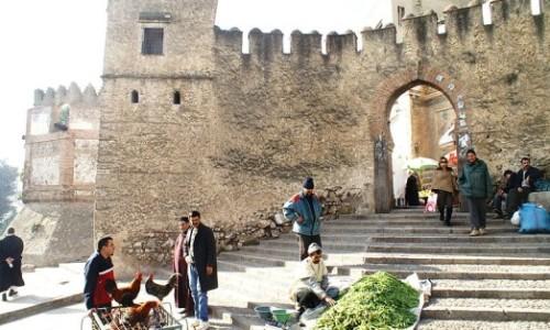 Ingang medina Tetouan