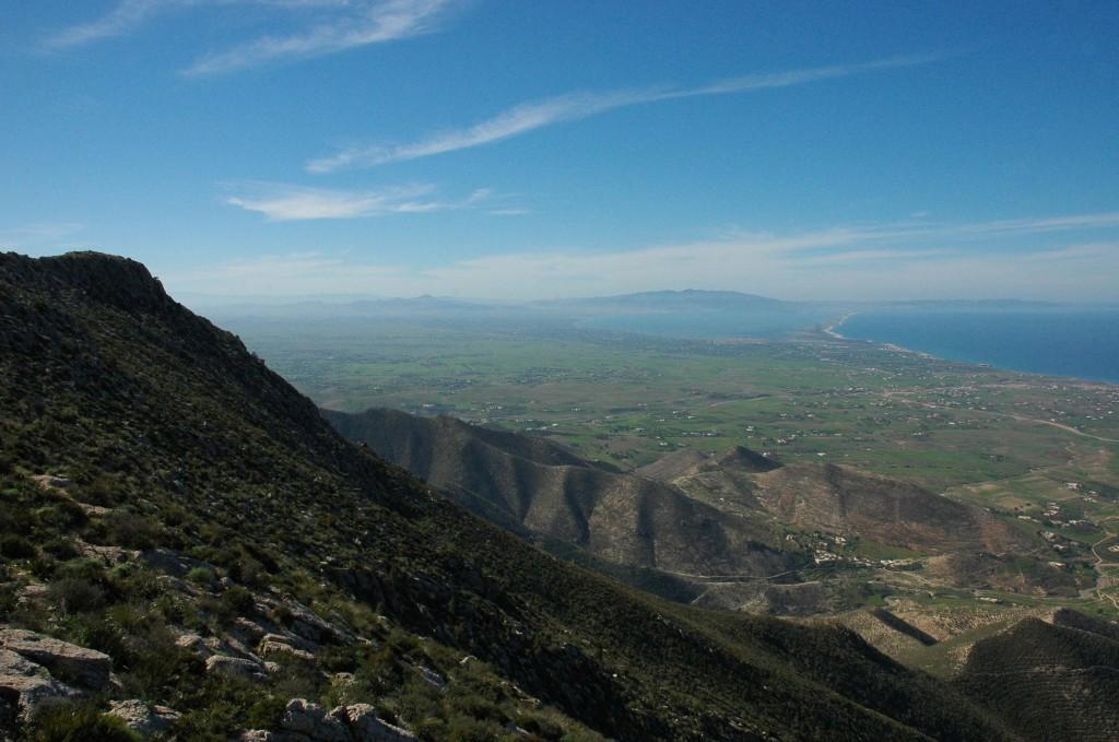 Mar Chica vanaf berg Kebdana